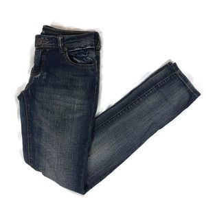 Mossimo Size 5 Skinny Jeans Medium Wash